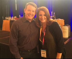 Ms. Bouton with Steve Spangler