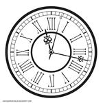 vintage-old-retro-clock-roman-numbers-2