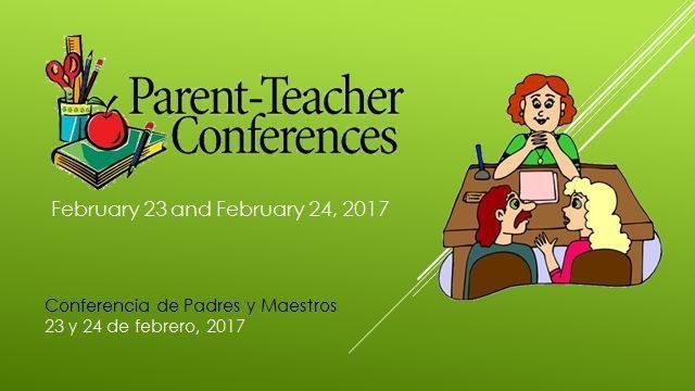 Parent-Teacher Conferences Feb.