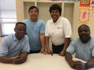 Mr. Joseph, Mr. Tran, Ms. Nash, and Mr. Hooper