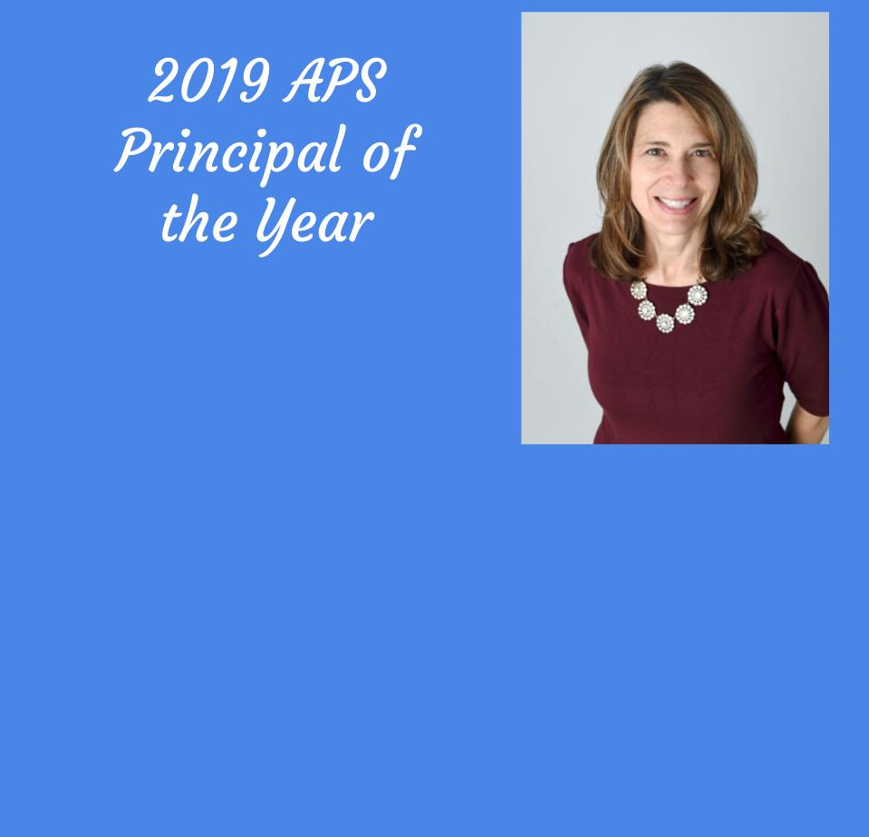 Mrs. Apostolico-Buck named APS Principal of the Year