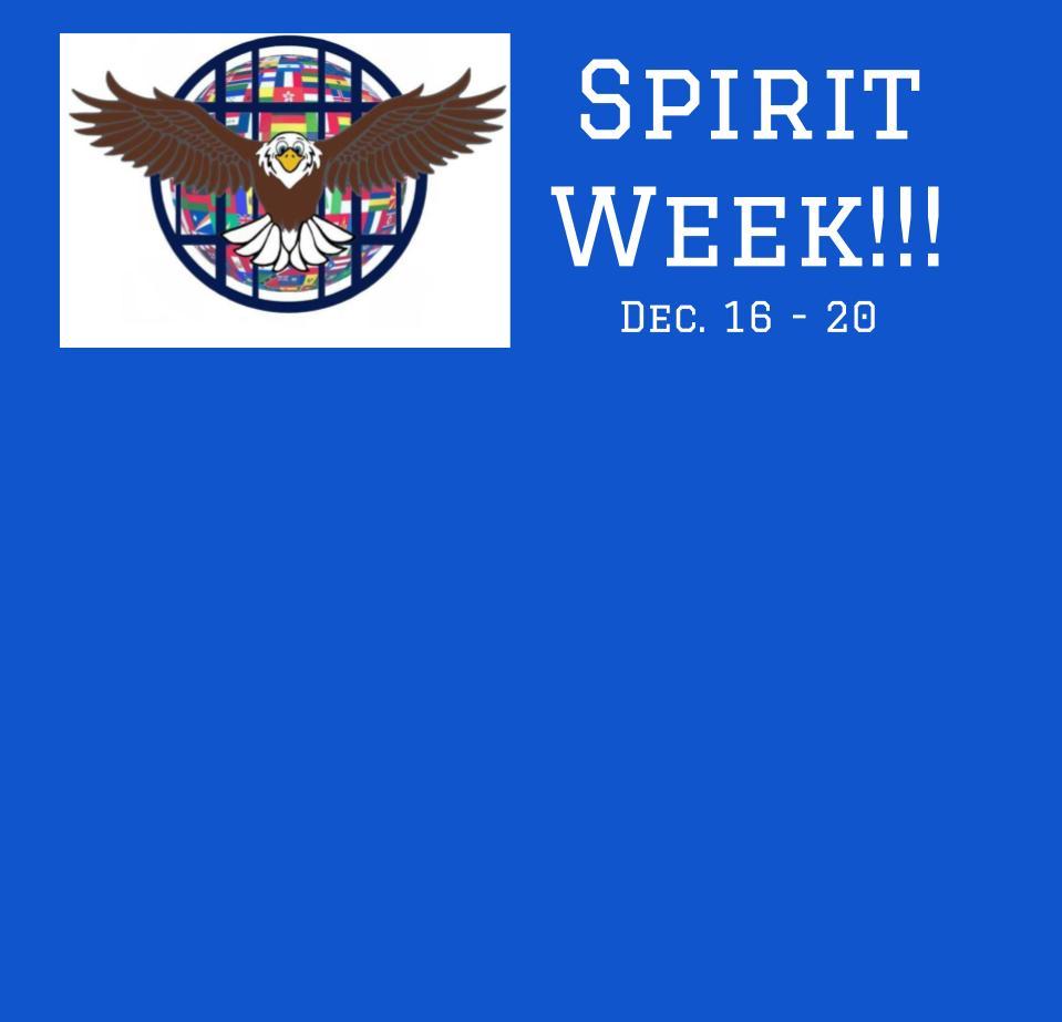 Spirit Week is Coming!