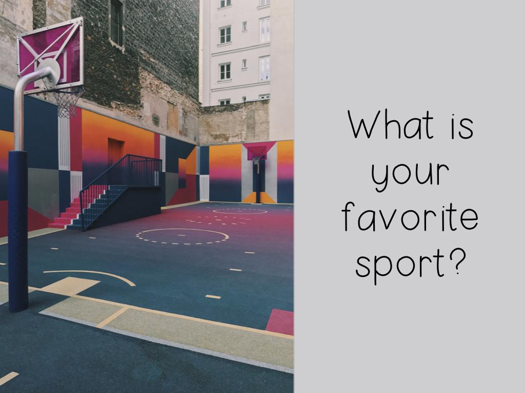 Qual é seu esporte favorito?