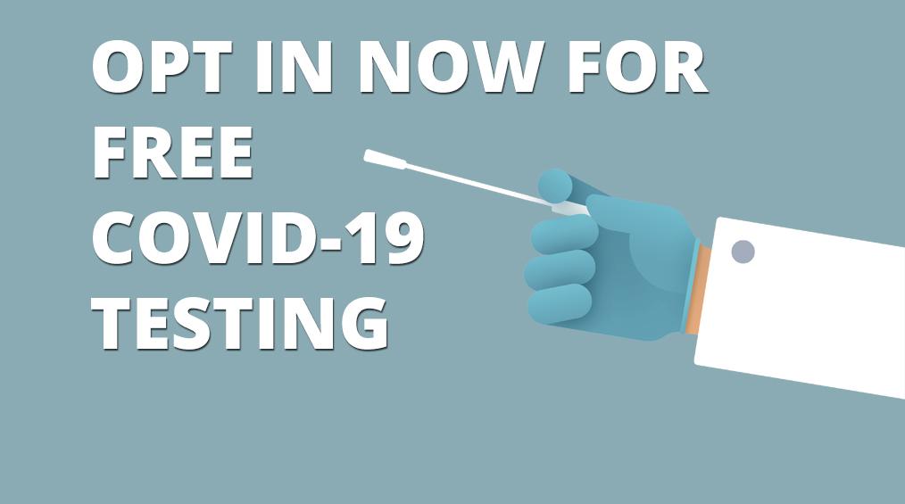 COVID-19テストに今すぐオプトイン